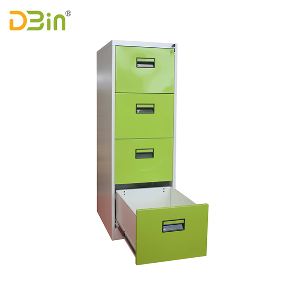 4 drawer vertical filing cabinet-handle type
