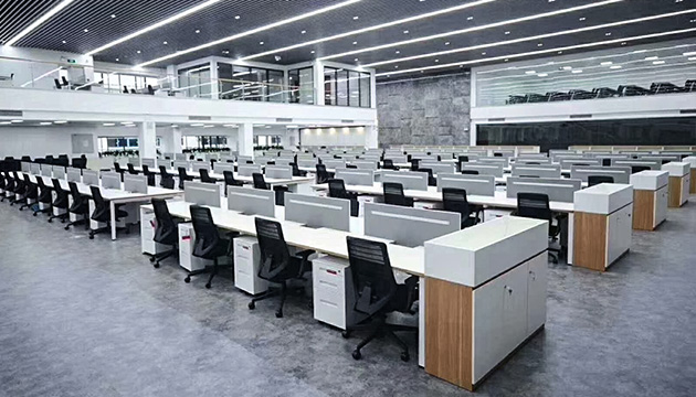 Engineering case of DBin Office Furniture
