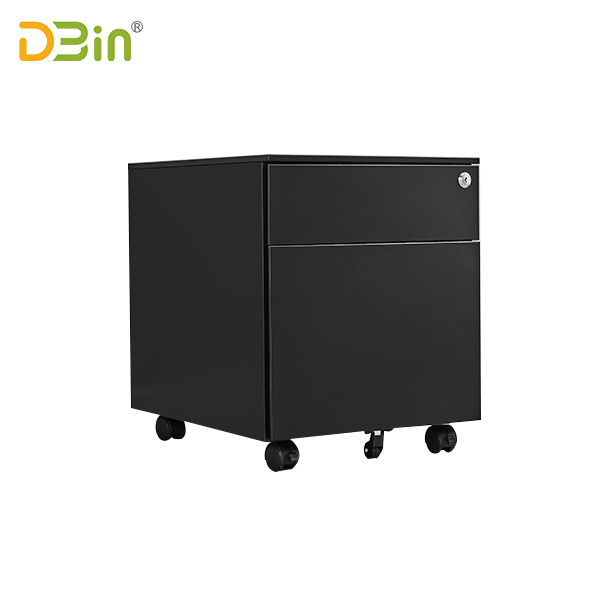 2 drawer Steel Mobile Pedestal