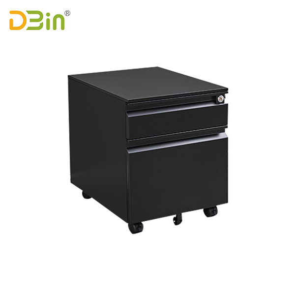 2-drawer-full-finger-type-steel-mobile-pedestal