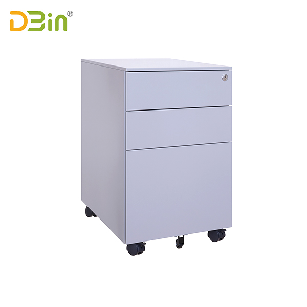 3 Drawer Steel Mobile Pedestal