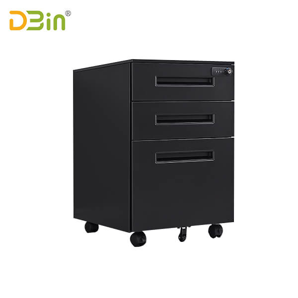 Office 3 drawer steel file pedestals manufacturer
