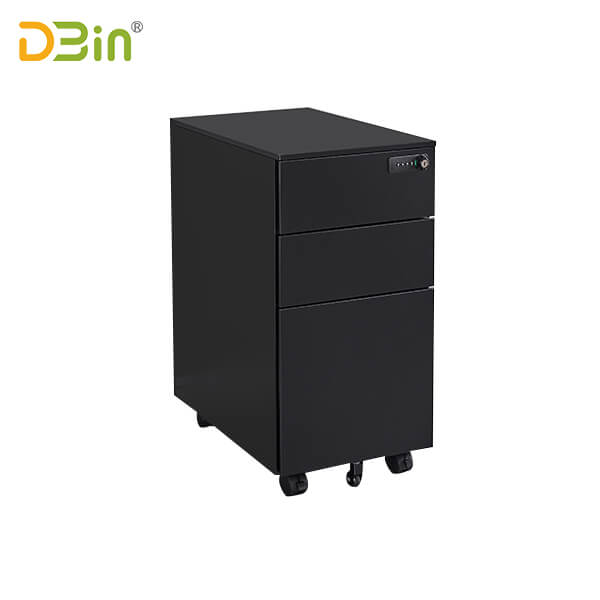 2020 3 Drawer Steel Mobile Pedestal for office