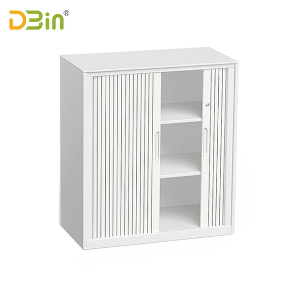 Tambour door unit steel cupboard factory