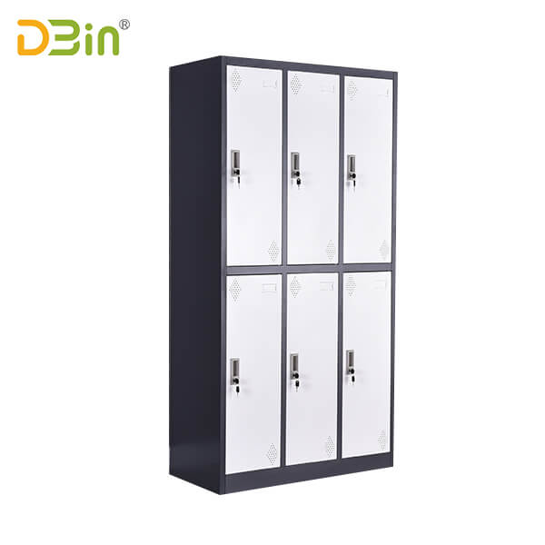 SB-X088 Six Door Steel Locker