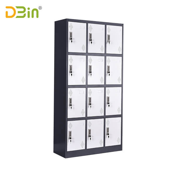 Twelve Door Steel Locker